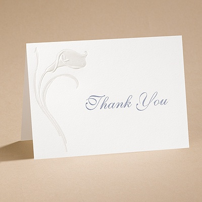 Everlasting - Thank You Card with Verse and Envelope