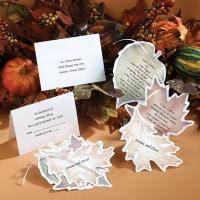 Gathering Leaves - Invitation