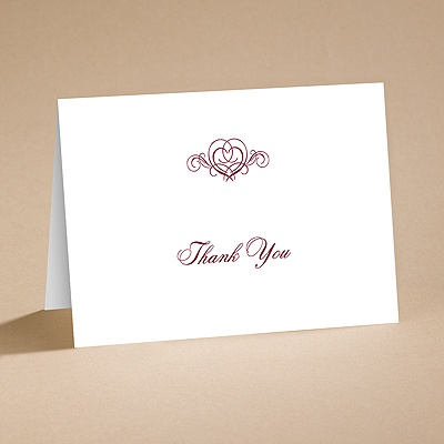 It's Up To You - Thank You Card With Verse and Envelope