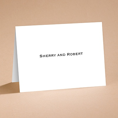 Bright White Note Card and Envelope