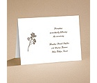 Wildflower Whimsy - Reception Card