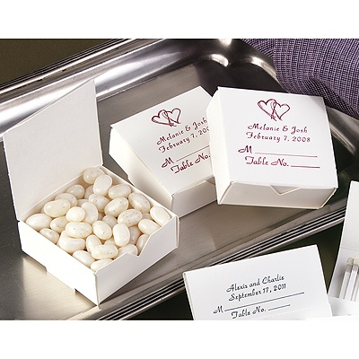 Place Card Boxes - Personalized