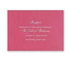 Fuchsia Shimmer - Foil Reception Card