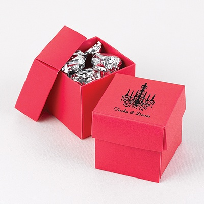 Fuchsia Two-Piece Favor Boxes