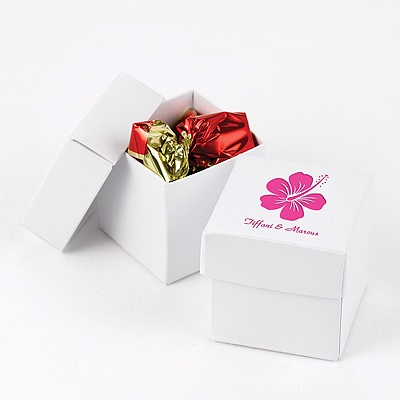 Pearl Shimmer Two-Piece Favor Boxes