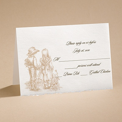 Magical Moment - Respond Card and Envelope