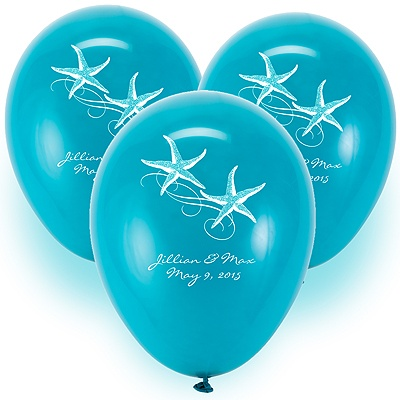 Custom Balloons - Teal