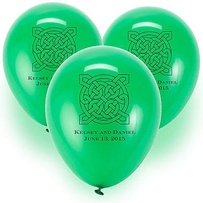 Custom Balloons - Green