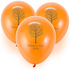 Custom Balloons - Orange