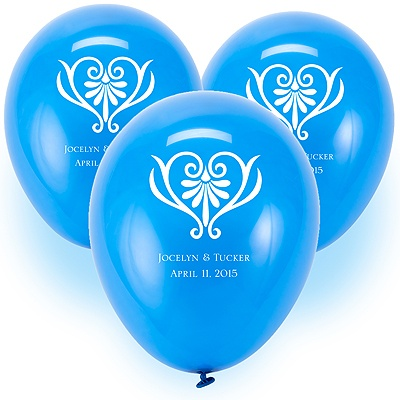 Custom Balloons - Royal Blue