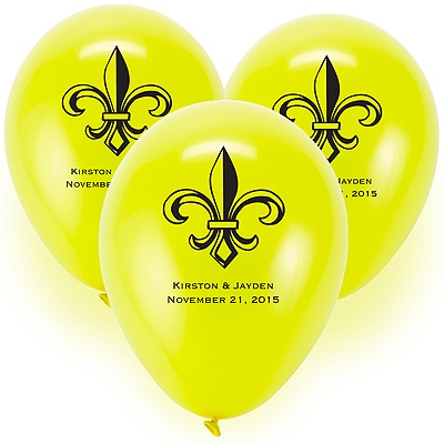 Custom Balloons - Yellow