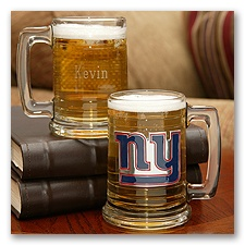 Giants NFL Glass Mug