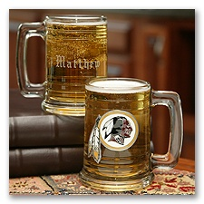 Redskins NFL Glass Mug