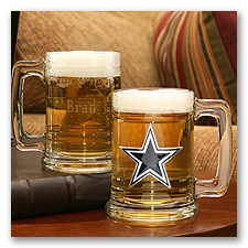 Cowboys NFL Glass Mug
