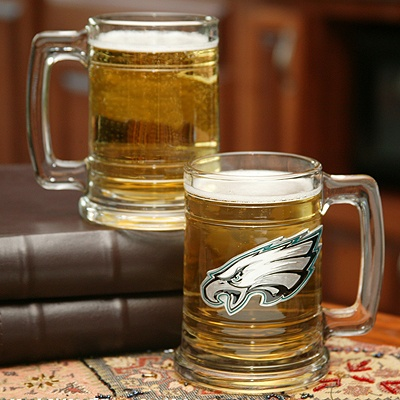 Eagles NFL Glass Mug