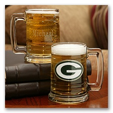 Packers NFL Glass Mug