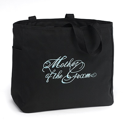 Embroidered Mother of the Groom Tote Bag