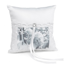 Lace Pocket Memorial Pillow