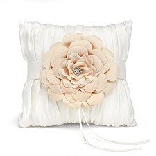 Beautiful Blossom Ring Pillow
