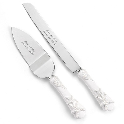 Starfish Knife and Server Set