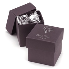 Raisin Two-Piece Favor Boxes