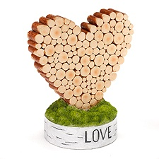 Piled with Love Table Décor