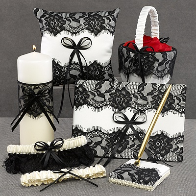 Vintage Black Lace Collection