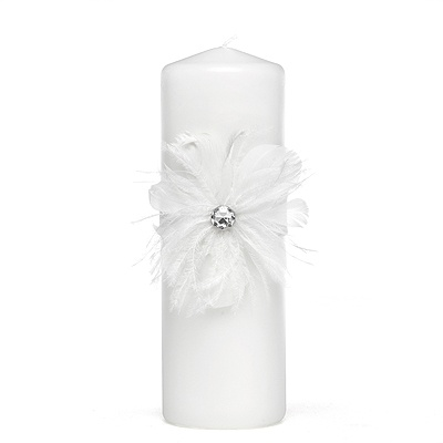 Feathered Fantasy Unity Candle