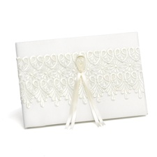 Sentimental Lace Guest Book