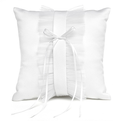 Tailored Romance Ring Pillow