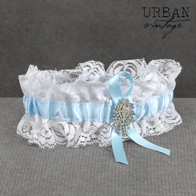 Rhinestone Riches Wedding Garter