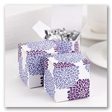 It Takes Two - Purple - Favor Boxes