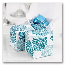 It Takes Two - Blue - Favor Boxes