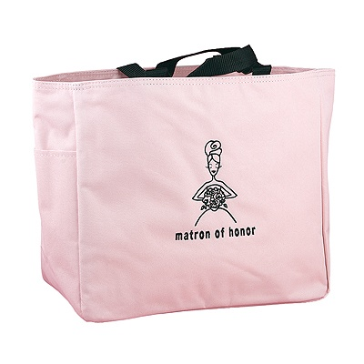 Pink Matron of Honor's Tote Bag