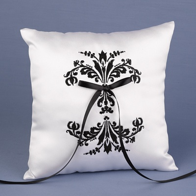 Formal Affair Damask Pillow