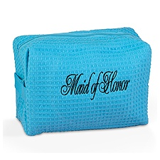 Personalized Cosmetic Bag - Blue