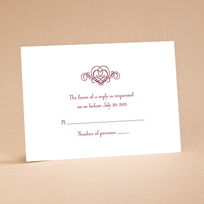 It's Up To You - Respond Card and Envelope