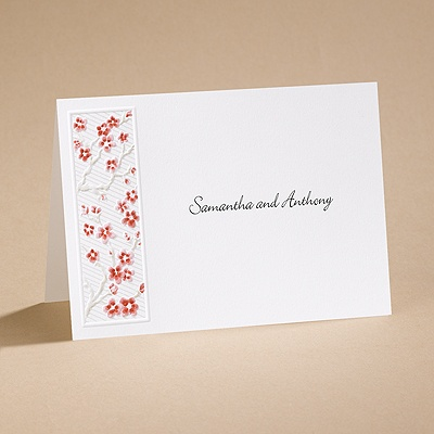 Love's Blossom - Note Card and Envelope