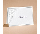 Romantic Butterflies - Thank You Card with Verse and Envelope