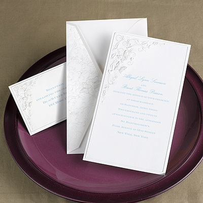 Romantic Butterflies - Invitation