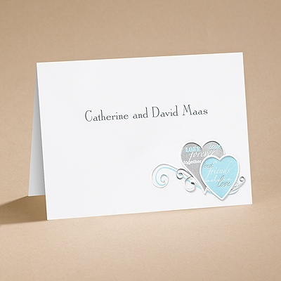 Romantic Messages - Note Card and Envelope