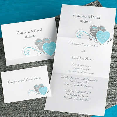Wedding Invitation Message on Wedding Invitations    Gray Wedding Invitations    Romantic Messages