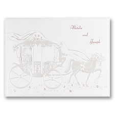 Your Carriage Awaits - Invitation