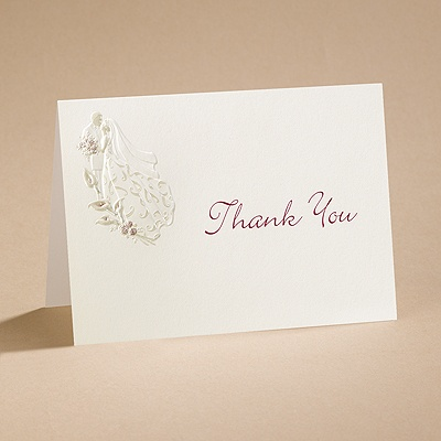 Unsurpassed - Thank You Card Blank Inside and Envelope