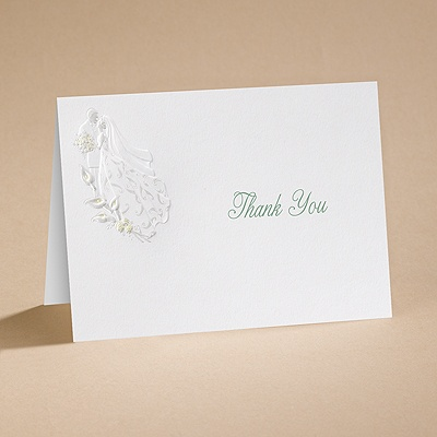 Sunny Accents - Thank You Card with Verse and Envelope