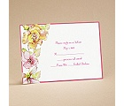 Tropical Blooms - Respond Card and Envelope