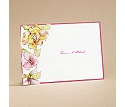 Tropical Blooms - Note Card and Envelope