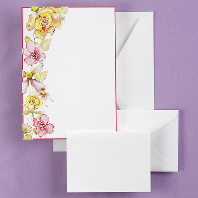 Tropical Blooms - DIY Invitation Kit