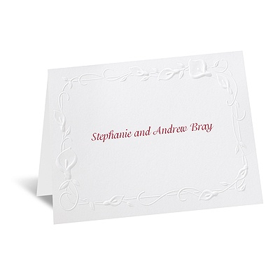 Beautiful Border - Note Card and Envelope
