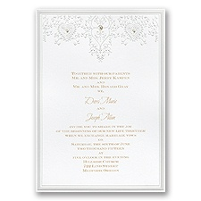 Bejeweled Elegance - Invitation